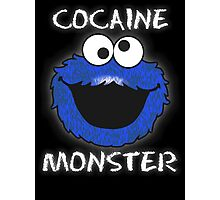 Cocaine Monster Photographic Print