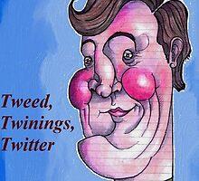 Stephen Fry by Iddoggy