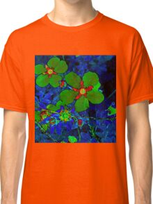 Green Potentilla Classic T-Shirt