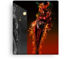 Machine Nightmare {Red} [ Fantasy Figure Illustration ] Canvas Print