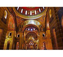 Cathedral Basilica of Saint Louis Interior Study 10  Photographic Print