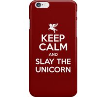 [ Keep Calm ] And Slay the Unicorn iPhone Case/Skin