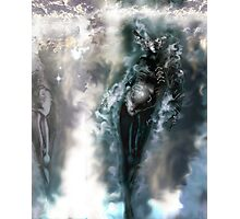 Machine Nightmare {Silver} [ Fantasy Figure Illustration ] Photographic Print