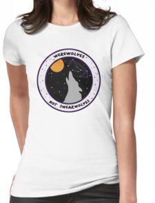 Werewolves Not Swearwolves Womens Fitted T-Shirt