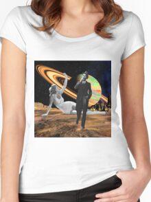 Walk Away Women's Fitted Scoop T-Shirt