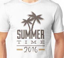 Summer Time - 2016 - Seasonal Fun Palm Tree Beaches Unisex T-Shirt