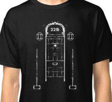 Sherlock, Front Door of 221B Baker Street (B&W) Classic T-Shirt