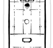 Sherlock, Front Door of 221B Baker Street (B&W) Sticker