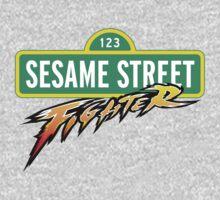 Sesame Street Fighter One Piece - Short Sleeve