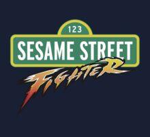 Sesame Street Fighter Kids Tee