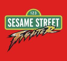 Sesame Street Fighter Kids Clothes