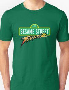 Sesame Street Fighter Unisex T-Shirt
