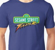 Sesame Street Fighter Unisex T-Shirt