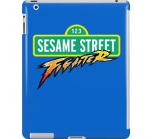 Sesame Street Fighter iPad Case/Skin