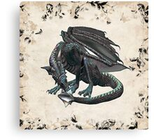 Dragon Song Canvas Print