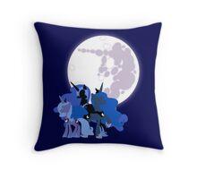 Nightmare Moon Throw Pillow