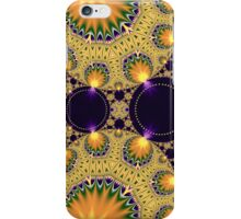 Circles and patterns iPhone Case/Skin