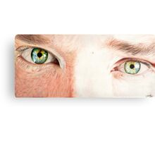 Benedict Cumberbatch's eyes Metal Print