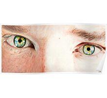 Benedict Cumberbatch's eyes Poster