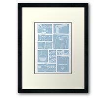 Breaking Bad - Icons Framed Print