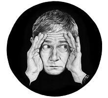 Martin Freeman by Cécile Pellerin