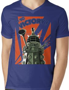 Dalek Victory Mens V-Neck T-Shirt
