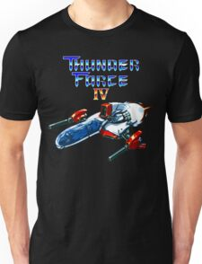 Thunder Force IV (Mega Drive Title Screen) Unisex T-Shirt