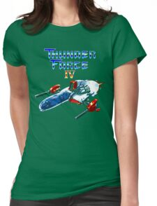 Thunder Force IV (Mega Drive Title Screen) Womens Fitted T-Shirt