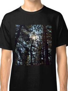 Sun through the trees Classic T-Shirt