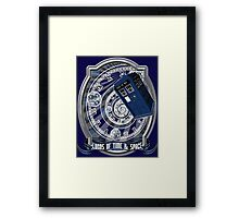 Doctor Who - Time Line Swirl Framed Print