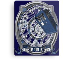 Doctor Who - Time Line Swirl Metal Print