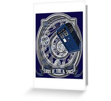 Doctor Who - Time Line Swirl Greeting Card