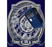 Doctor Who - Time Line Swirl Photographic Print