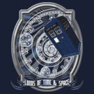 Doctor Who - Time Line Swirl by Jackpot777