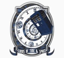 Doctor Who - Time Line Swirl One Piece - Short Sleeve