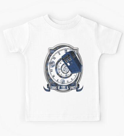 Doctor Who - Time Line Swirl Kids Tee