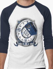 Doctor Who - Time Line Swirl Men's Baseball ¾ T-Shirt