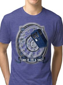Doctor Who - Time Line Swirl Tri-blend T-Shirt