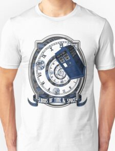 Doctor Who - Time Line Swirl Unisex T-Shirt