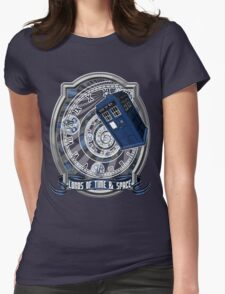 Doctor Who - Time Line Swirl Womens Fitted T-Shirt