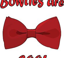 Bowties are cool by wolfhandro
