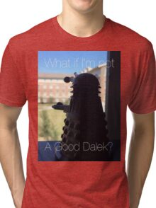 Doctor Who Dalek - Good Dalek Tri-blend T-Shirt