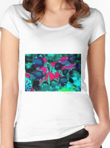Blue Cowslips Women's Fitted Scoop T-Shirt