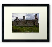 Ruined Cottage at Cashelnagor, County Donegal, Ireland Framed Print