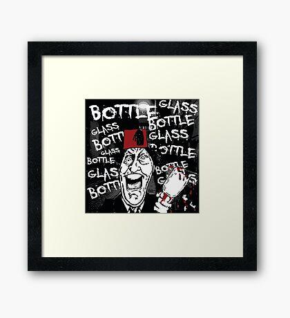 Glass Bottle Bottle Glass - Tommy Cooper Framed Print