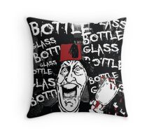 Glass Bottle Bottle Glass - Tommy Cooper Throw Pillow