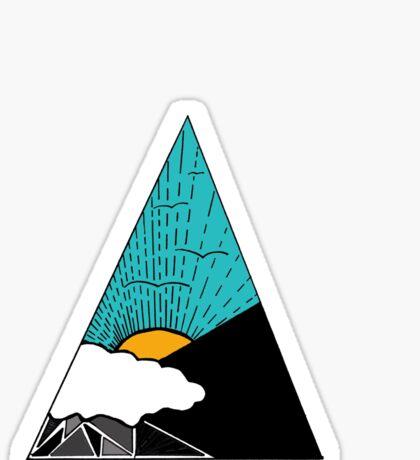Geometric Sky Sticker