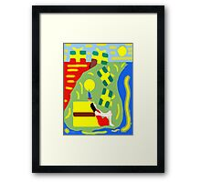 WAKE UP, IT'S YOUR BIRTHDAY! Framed Print