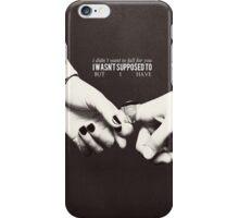 Cophine hands iPhone Case/Skin