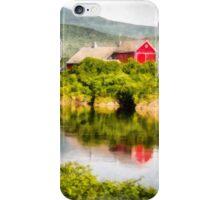 Connecticut River Farm iPhone Case/Skin